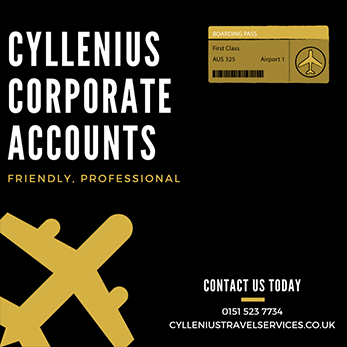How a Cyllenius corporate account works