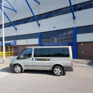 Transfers from Liverpool Airport to Goodison Park