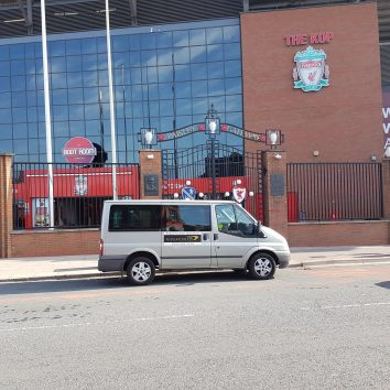 Transfers from Manchester Airport to Anfield