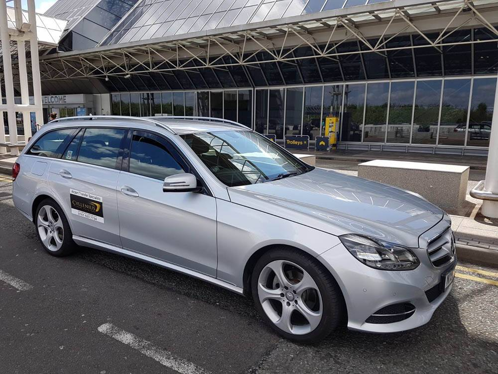 Airport taxi service in North West