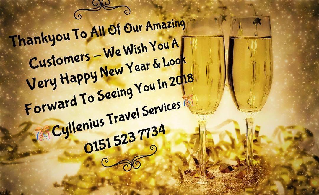 Cyllenius travel happy new year